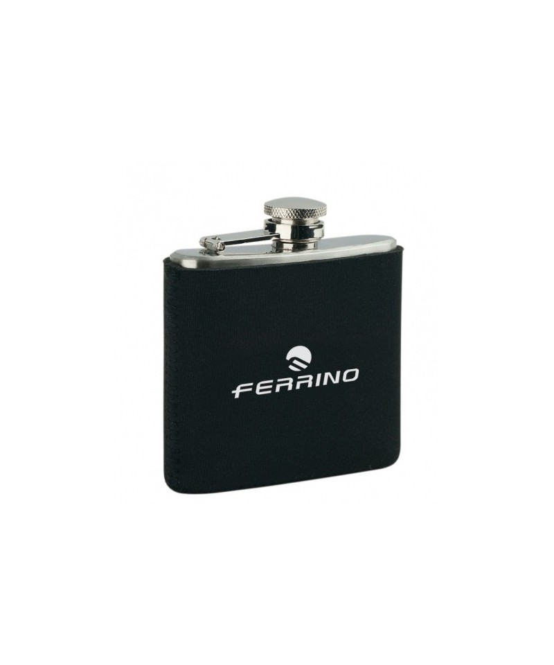 Sticluta alcool Hipflask with neoprene pouch