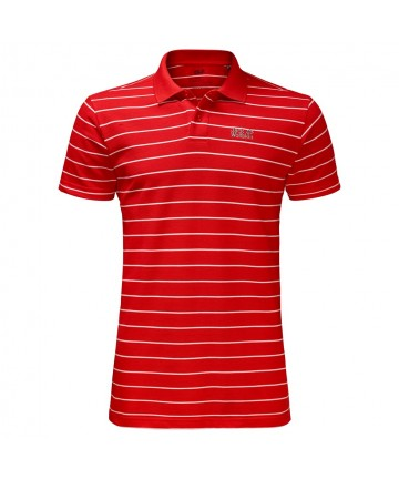 Pique Striped Polo men